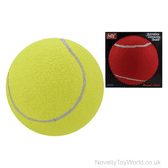 Large Novelty Tennis Play Balls - 2 Colours (17cm)
